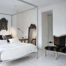Фотография: Спальня в стиле Современный, Дом, Дома и квартиры, Минимализм, Фьюжн, Пэчворк – фото на InMyRoom.ru