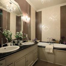 Фотография: Ванная в стиле Классический, Квартира, Дома и квартиры, Прованс, Москва – фото на InMyRoom.ru