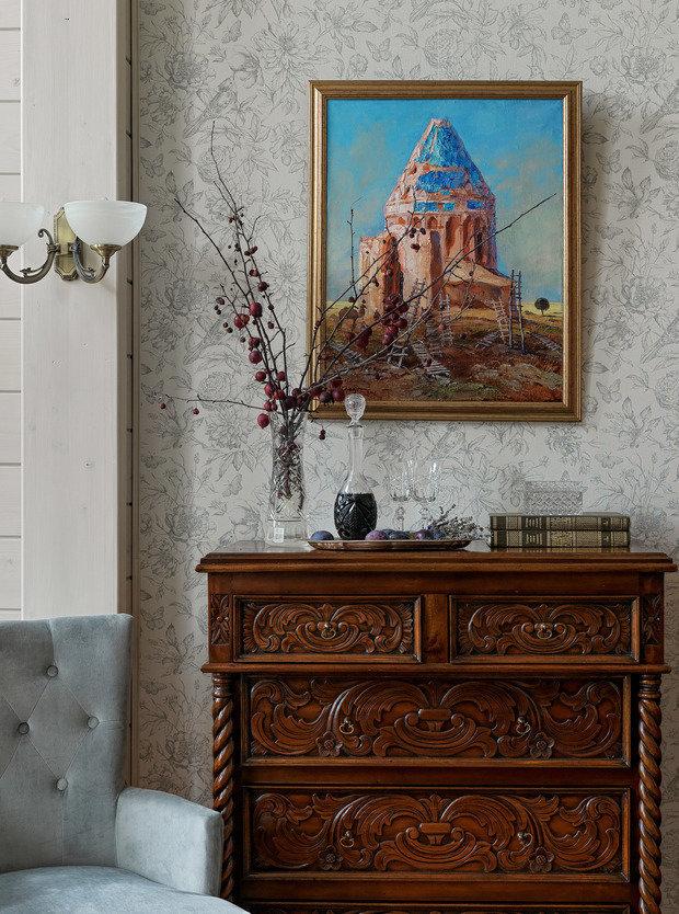 Фото из портфолио Интерьер загородного дома в ближайшем Подмосковье. – фотографии дизайна интерьеров на INMYROOM