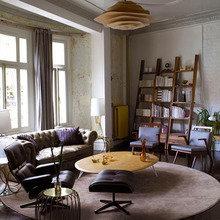 Фотография: Гостиная в стиле Эклектика, Декор интерьера, DIY, Цвет в интерьере – фото на InMyRoom.ru