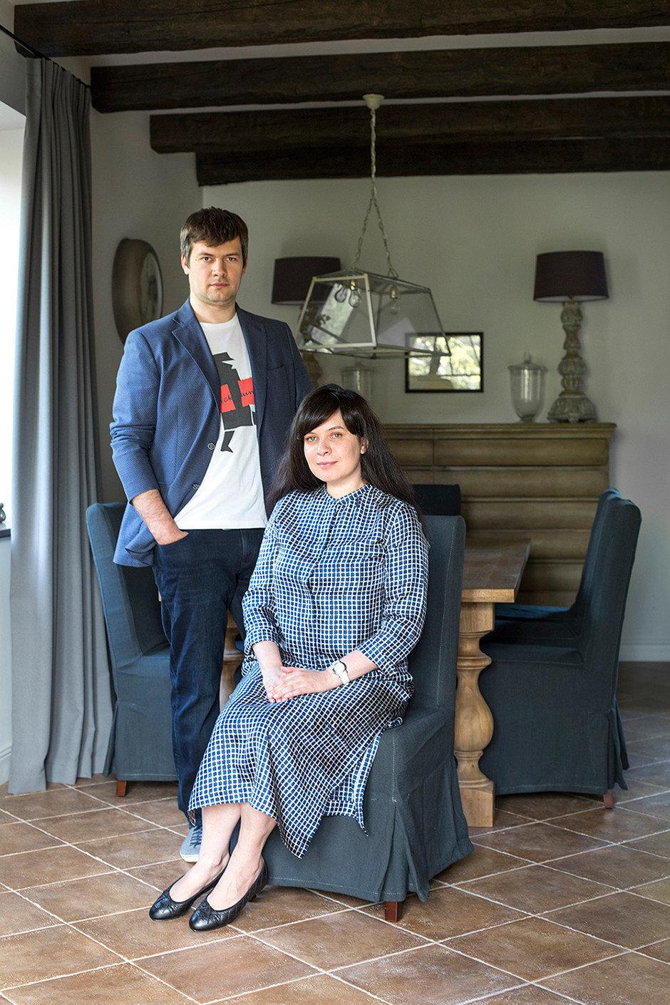 Архитекторы Максим Бондаренко и Надежда Малых