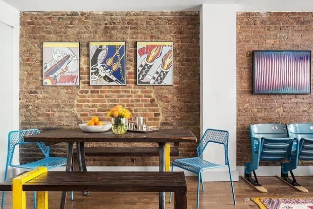 Фотография: Кухня и столовая в стиле Эклектика, Декор интерьера, Малогабаритная квартира, Квартира, Нью-Йорк, Гид – фото на INMYROOM