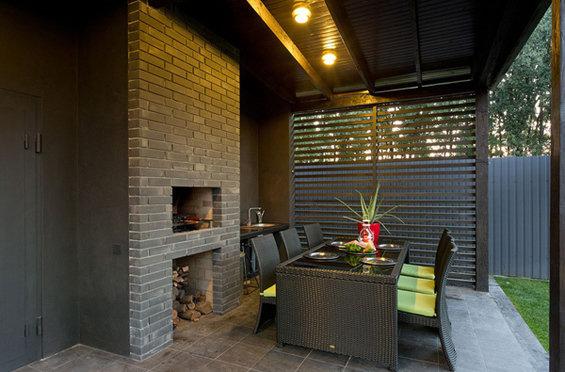 Фотография: Терраса в стиле Лофт, Дом, Дома и квартиры, Минимализм, Большие окна – фото на INMYROOM