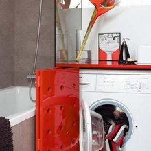 Фотография: Ванная в стиле Современный, Минимализм, Декор интерьера, Декор дома, Системы хранения – фото на InMyRoom.ru