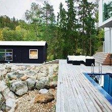Фотография: Архитектура в стиле , Дом, Цвет в интерьере, Дома и квартиры, Белый – фото на InMyRoom.ru