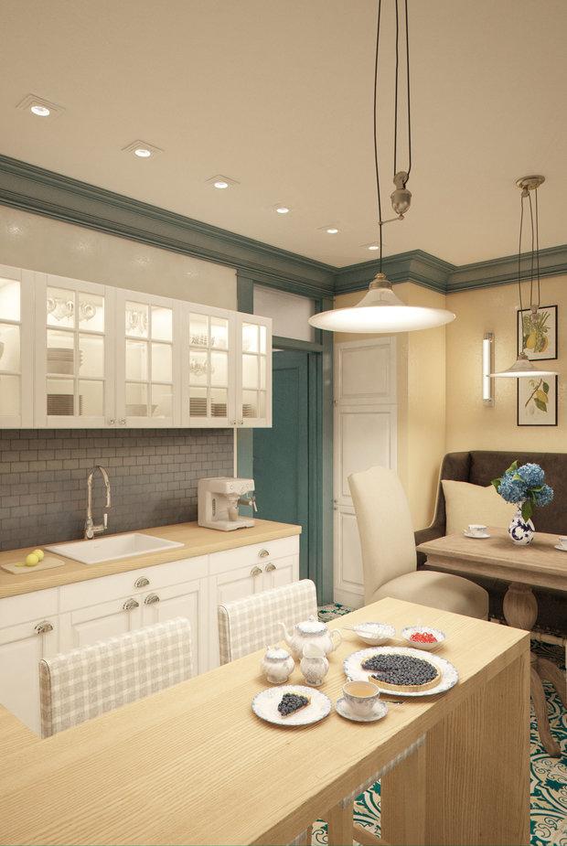 Фотография: Кухня и столовая в стиле , Квартира, Gramercy Home, Дома и квартиры, IKEA, Проект недели – фото на InMyRoom.ru