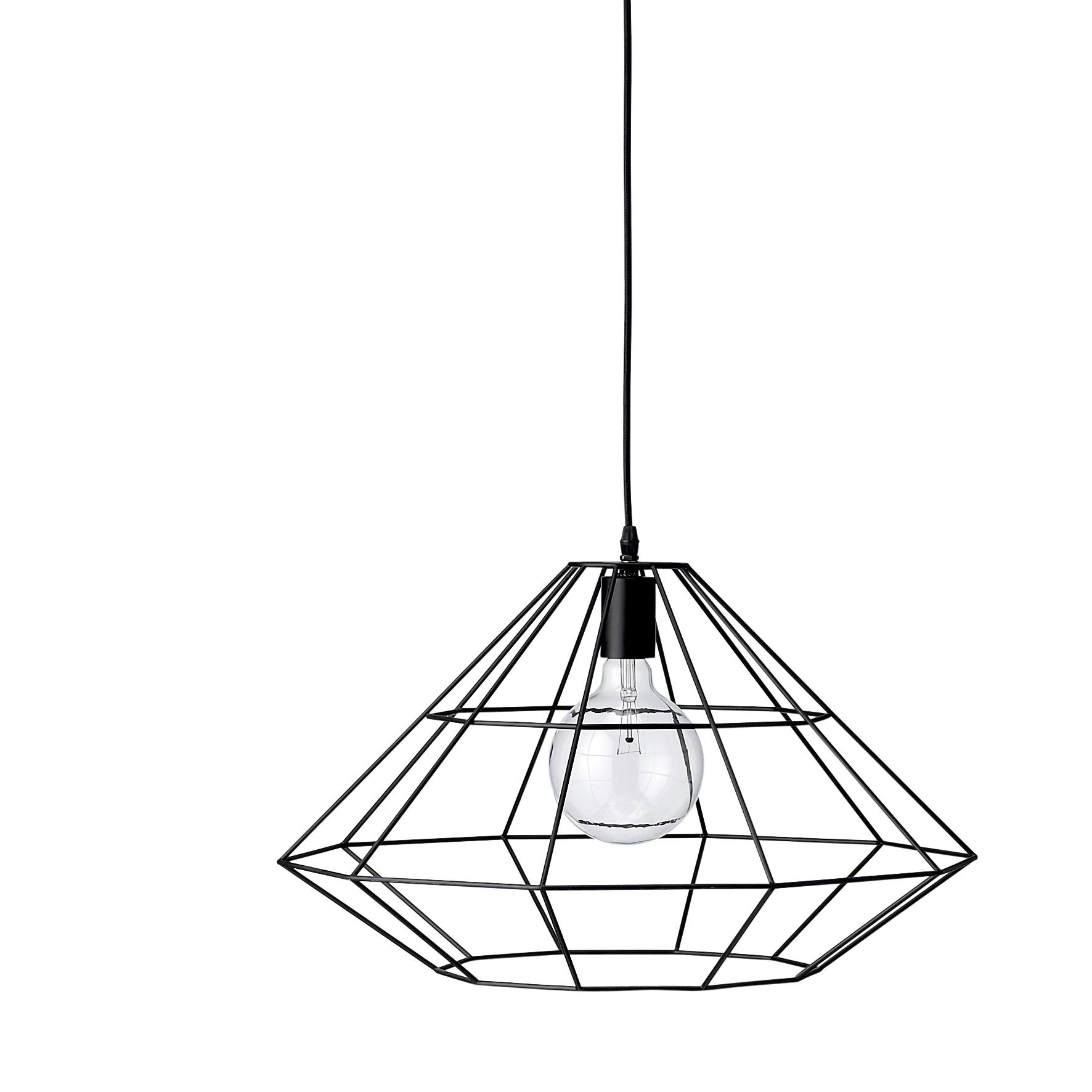 Купить со скидкой Подвесной светильник  Pernille Black черного цвета