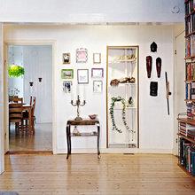 Фотография: Прихожая в стиле Кантри, Скандинавский, Малогабаритная квартира, Квартира, Швеция, Дома и квартиры – фото на InMyRoom.ru
