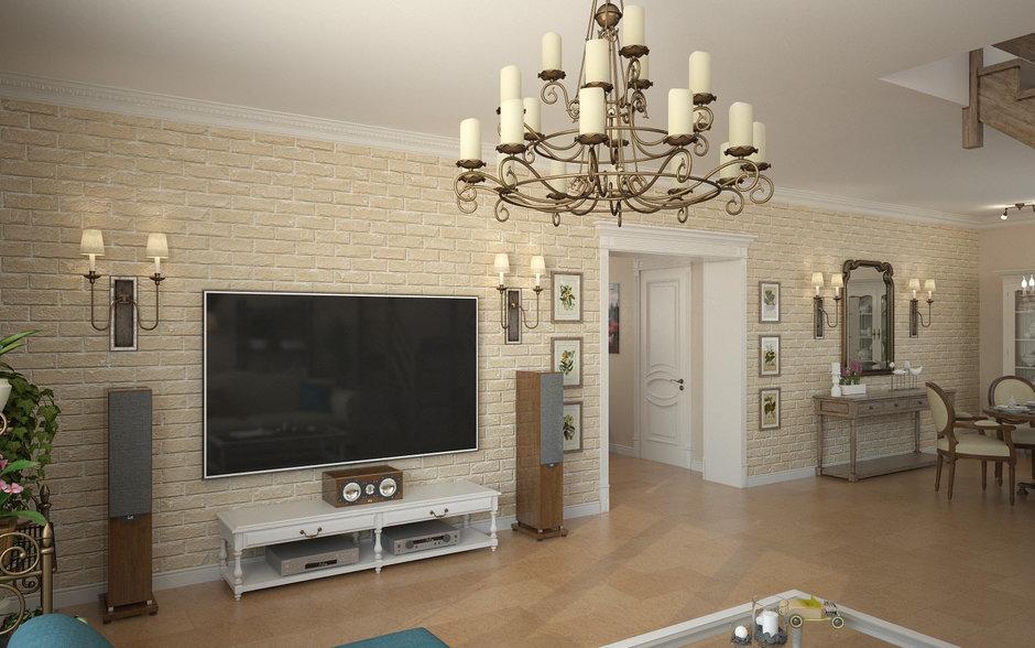 Фотография: Гостиная в стиле Прованс и Кантри, Дом, Дома и квартиры, Прованс – фото на InMyRoom.ru