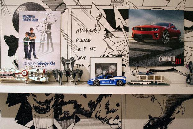 Фотография: Декор в стиле Эклектика, Детская, Интерьер комнат, Проект недели – фото на InMyRoom.ru