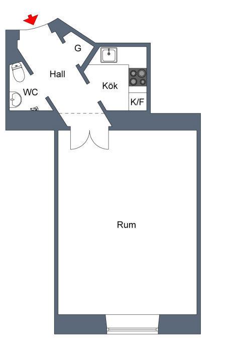 Фотография: Планировки в стиле , Спальня, Скандинавский, Декор интерьера, Интерьер комнат, SIEMENS, Проект недели – фото на InMyRoom.ru