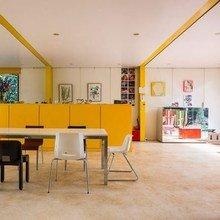 Фотография: Кухня и столовая в стиле Современный, Декор интерьера, Дизайн интерьера, Цвет в интерьере, Краска – фото на InMyRoom.ru
