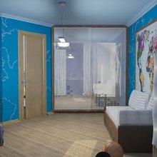 Фото из портфолио Проект 2-х ком. квартиры г. Краснодар, ул. Атарбекова – фотографии дизайна интерьеров на InMyRoom.ru
