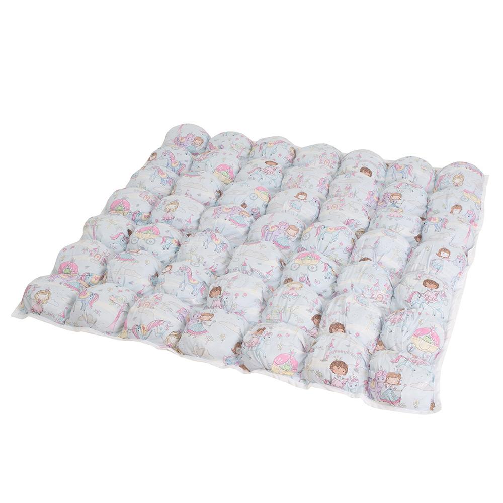 Игровой коврик бомбон Princess&Amp;Unicorn из хлопка, inmyroom, Россия  - Купить