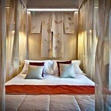 Фотография: Спальня в стиле Восточный, Дома и квартиры, Городские места, Отель, Модерн, Милан, Замок – фото на InMyRoom.ru