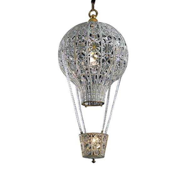 Купить Подвесной светильник Banci la Tradizione с плафоном из прозрачного стекла и хрусталя, inmyroom, Италия