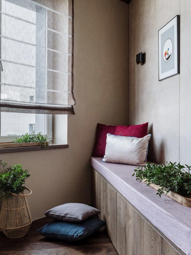 Фотография: Балкон в стиле Современный, Квартира, Проект недели, Москва, 4 и больше, Более 90 метров, Нина Шуберт – фото на INMYROOM