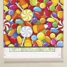 Рулонные шторы: Карамельки