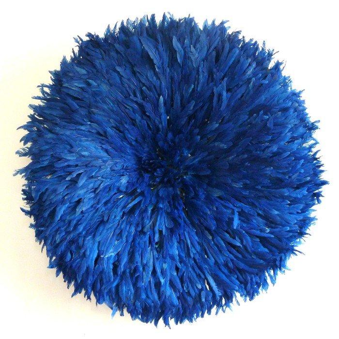 Камерунская шляпа  большая (75 см) Синяя
