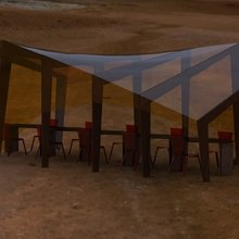 """Фото из портфолио Крытая беседка для кафе """"AIR LiNE"""" – фотографии дизайна интерьеров на InMyRoom.ru"""