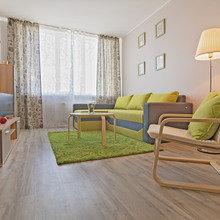 Фото из портфолио 1-но комнатная квартира 42.10m² – фотографии дизайна интерьеров на INMYROOM