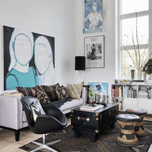 Фото из портфолио Этнический стиль : оттенки жизни всех народов в доме – фотографии дизайна интерьеров на INMYROOM