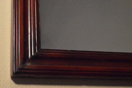 Продам шикарное антикварное зеркало после реставрации