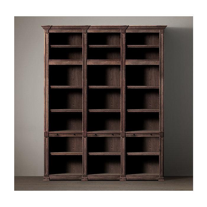 Двойной открытый книжный шкаф atkins.