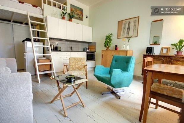 Фотография: Кухня и столовая в стиле Скандинавский, Airbnb – фото на InMyRoom.ru