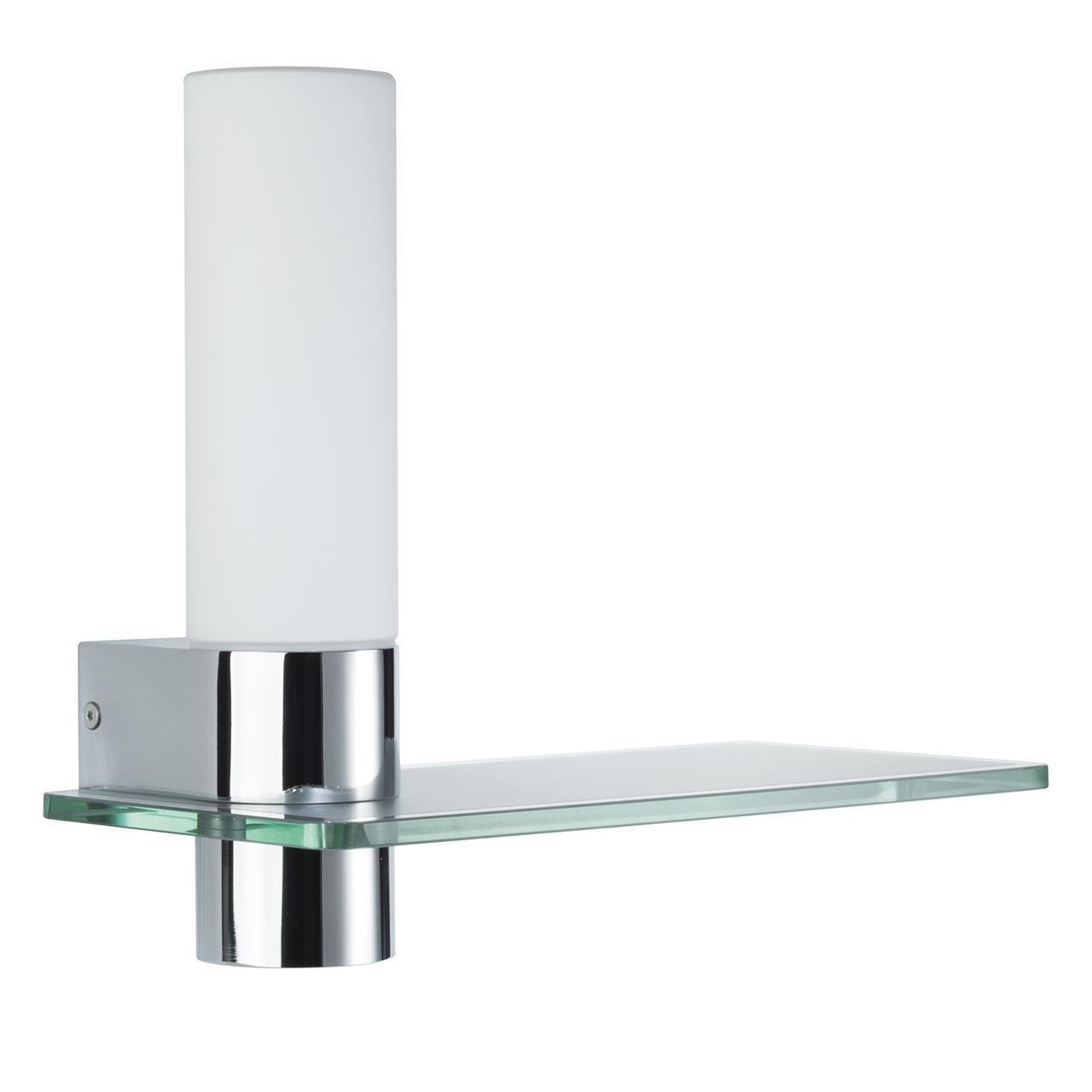Подсветка для зеркал Elektra с плафоном из стекла