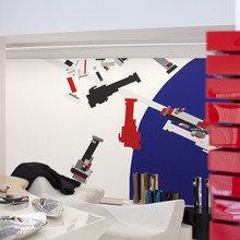 Фотография: Гостиная в стиле Хай-тек, Декор интерьера – фото на InMyRoom.ru