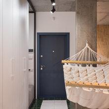 Фотография: Прихожая в стиле Лофт, Квартира, Проект недели, Киев, гамак в квартире, новостройка – фото на InMyRoom.ru