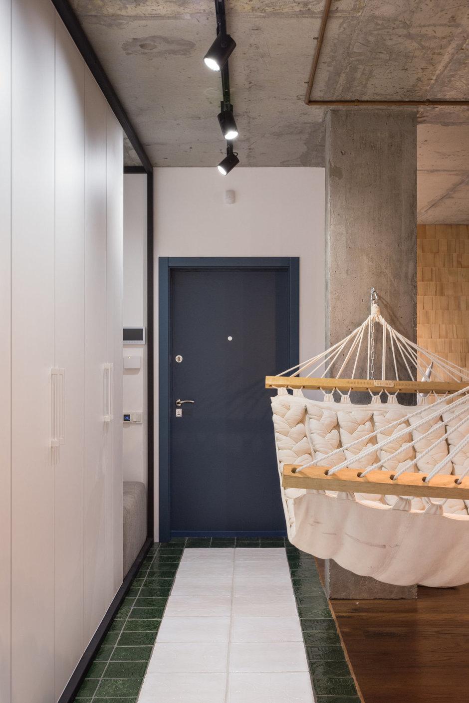 Фотография: Прихожая в стиле Лофт, Квартира, Проект недели, Киев, новостройка, Монолитный дом, 2 комнаты, 60-90 метров – фото на InMyRoom.ru