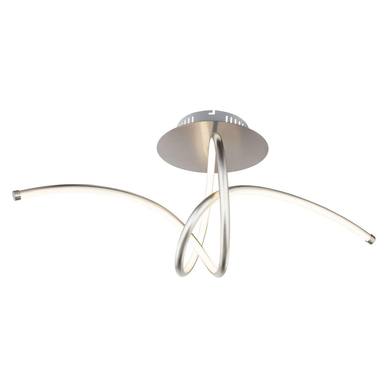 Купить со скидкой Потолочный светодиодный светильник Globo Kyle с плафонами из пластика