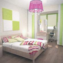 Фото из портфолио Нежная спальня... – фотографии дизайна интерьеров на InMyRoom.ru