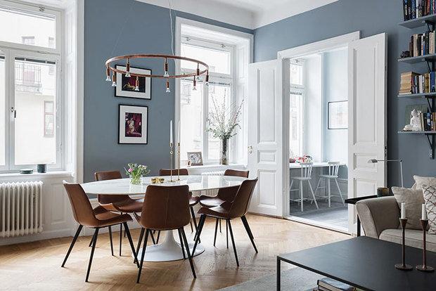 Фотография: Гостиная в стиле Скандинавский, Декор интерьера, Квартира, Швеция, 3 комнаты, 60-90 метров – фото на InMyRoom.ru