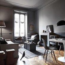 Фотография: Гостиная в стиле Современный, Декор интерьера, Архитектурные объекты, Потолок – фото на InMyRoom.ru
