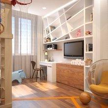 Фото из портфолио  Дизайн-проект детской комнаты 2 – фотографии дизайна интерьеров на InMyRoom.ru