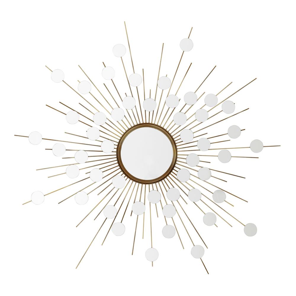Купить Настенное зеркало Eichholtz Mirror Reflections в металлической раме, inmyroom, Нидерланды