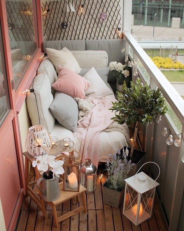 Фотография: Балкон в стиле Скандинавский, Советы, как оформить балкон, идеи для дачи – фото на INMYROOM