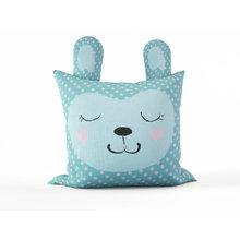 Детская подушка: Спящий зайка