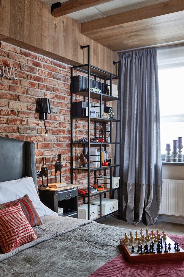 Фотография: Спальня в стиле Лофт, Гид – фото на INMYROOM