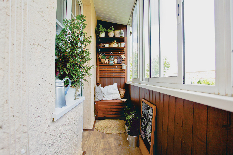 Дизайн балконов и лоджий: 3562 фото на inmyroom.