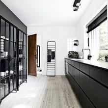 Фото из портфолио Нестареющая классика : сочетание черного и белого – фотографии дизайна интерьеров на InMyRoom.ru