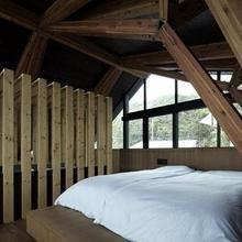 Фотография: Спальня в стиле Минимализм, Декор интерьера, Дом, Дома и квартиры, Архитектурные объекты – фото на InMyRoom.ru