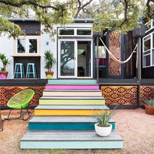 Фото из портфолио Крошечный дом дизайнера Ким Льюис в Остине – фотографии дизайна интерьеров на INMYROOM