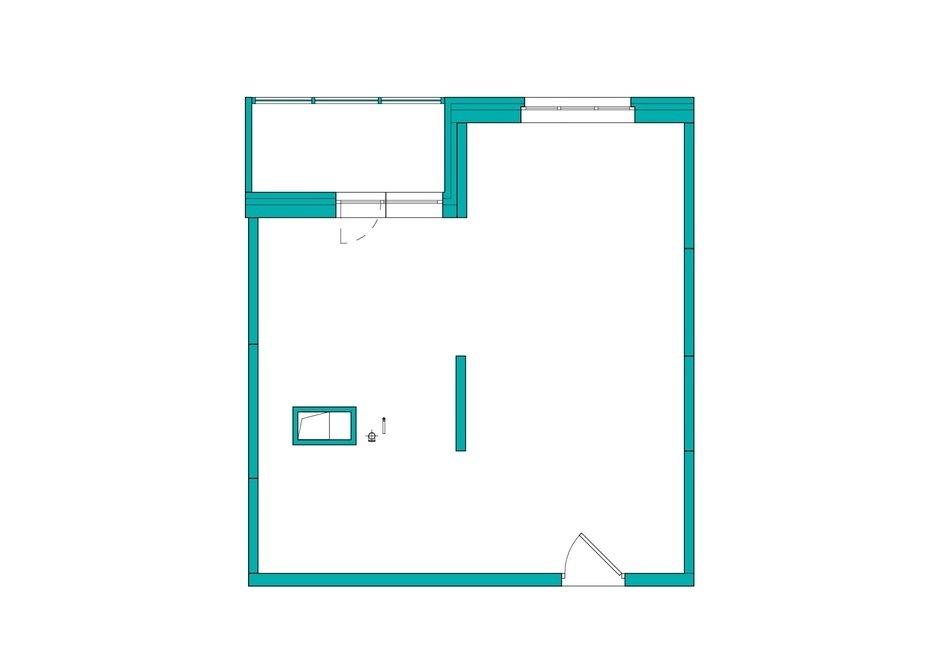 Фотография: Планировки в стиле , Квартира, Проект недели, Co:Interior, 1 комната, 40-60 метров, Монолитно-кирпичный, ЖК «Новое Тушино» – фото на InMyRoom.ru