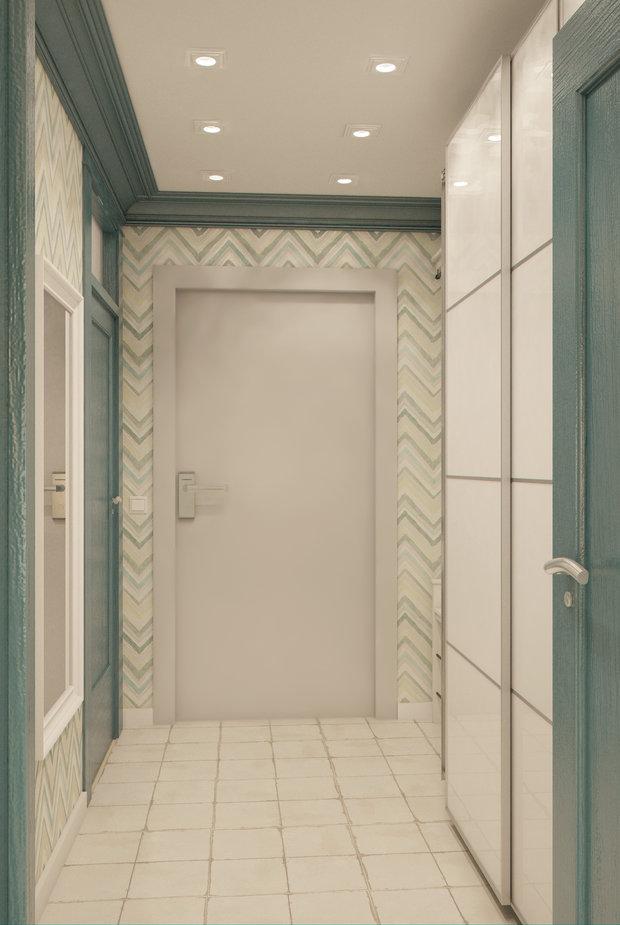 Фотография: Прихожая в стиле , Квартира, Gramercy Home, Дома и квартиры, IKEA, Проект недели – фото на InMyRoom.ru