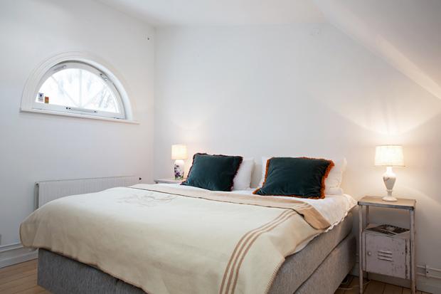 Фотография: Спальня в стиле Лофт, Скандинавский, Дом, Дома и квартиры – фото на InMyRoom.ru