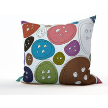 Декоративная подушка: Пуговка